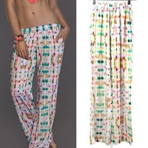 NWT L*Space Colorful Pattern De Janeiro Beach Pant
